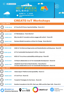 save the date create iot workshops at the iot week 2018 lsp