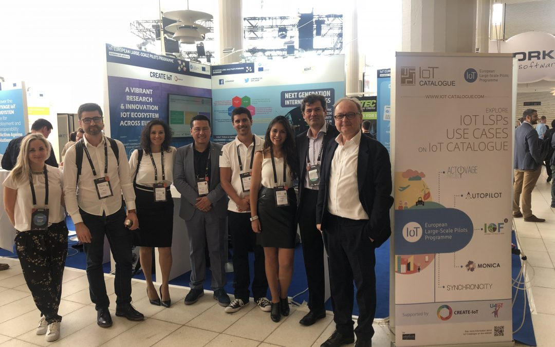 CREATE-IoT @ IoT Week 2019: Showcasing the IoT LSP Programme achievements