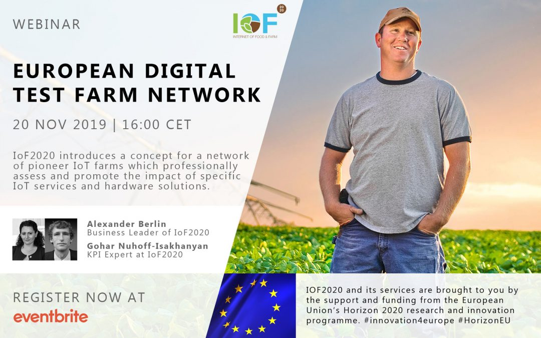IoF2020 Webinar Series: European test farm network for digital impact validation