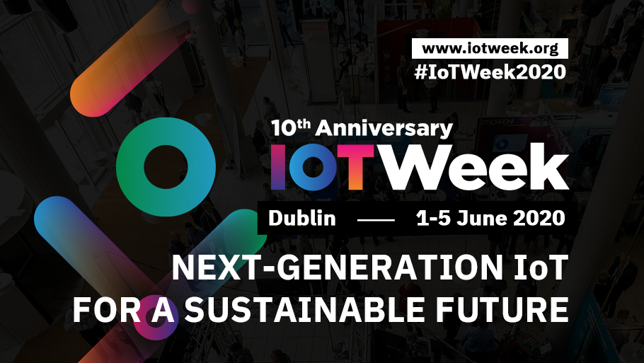 Save the date for IoT Week 2020